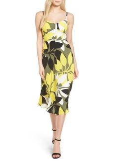 Bailey 44 Floral Print Midi Dress