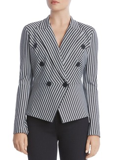 Bailey 44 Gelato Double-Breasted Striped Blazer