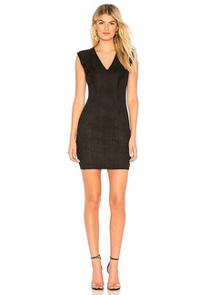Bailey 44 Glade Skiing Suede Dress