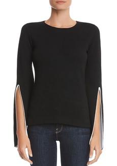 Bailey 44 Got To Split Slit-Sleeve Sweater