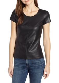 Bailey 44 Hardy Faux Leather Front Tee