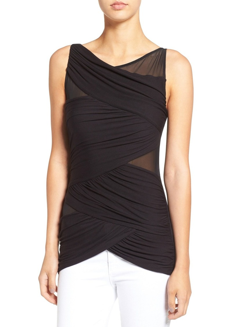 Bailey 44 'Juxtaposition' Mesh Detail Bandage Top