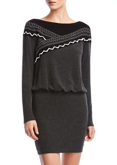Bailey 44 Karina Blouson Long Sleeve Sweater Dress
