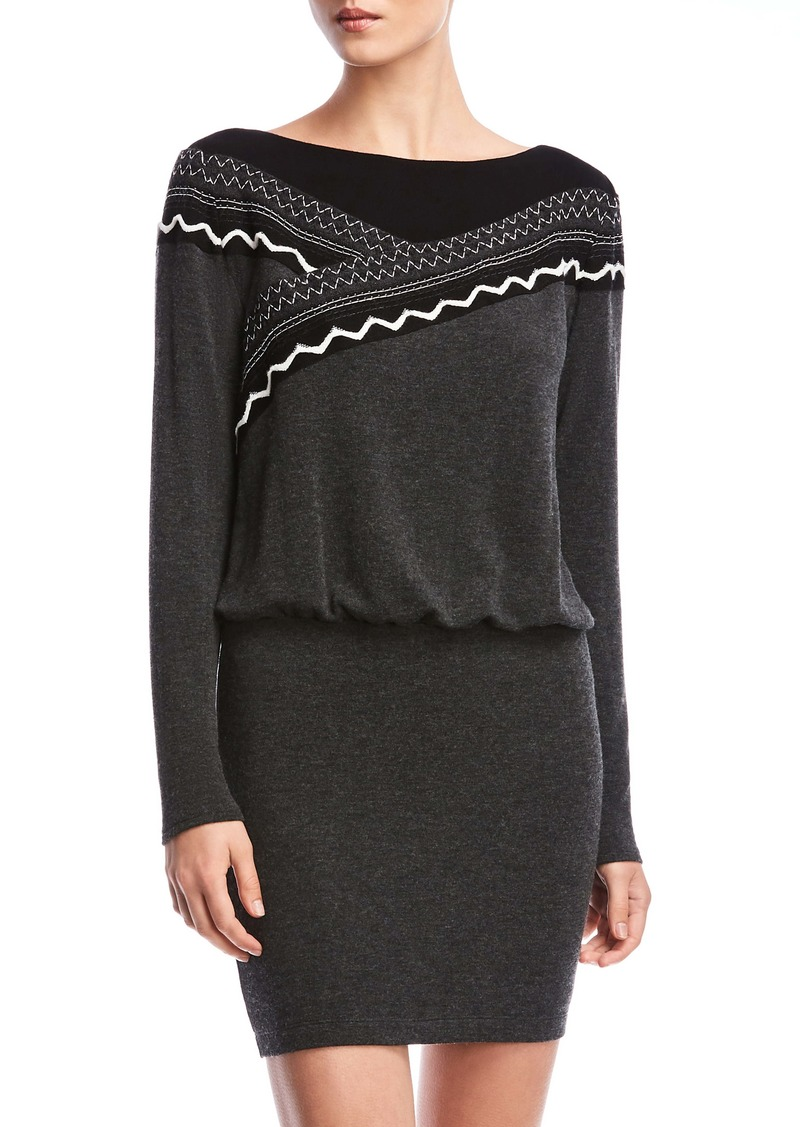 Bailey 44 Karina Blouson Long Sleeve Sweater Dress