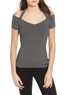 Bailey 44 Kiss & Tell Cold Shoulder Top