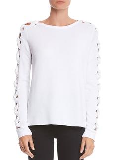 Bailey 44 Knot Detail Fleece Sweatshirt