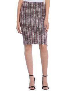 Bailey 44 Laissez-Faire Boucl� Pencil Skirt