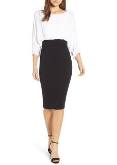 Bailey 44 Laws of Attraction Georgette & Ponte Dress
