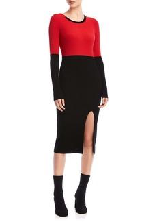 Bailey 44 Lenna Long Sleeve Midi Sweater Dress