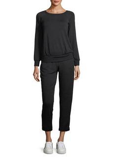 Bailey 44 Long-Sleeve Fleece Jumpsuit