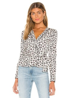Bailey 44 Marguerite Mini Leopard Top