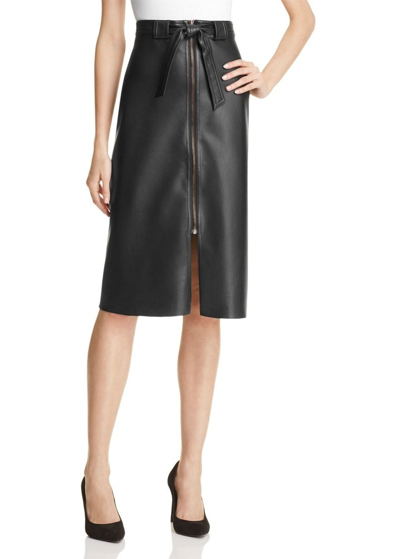 Bailey 44 Never Forget Faux Leather Skirt