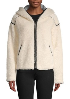 Bailey 44 Nora Hooded Faux Shearling Jacket