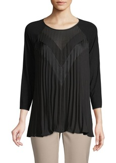 Bailey 44 Pleated-Front Top