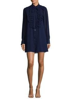 Bailey 44 Ruffle-Trim Shirt Dress