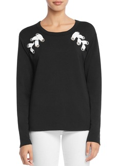 Bailey 44 Sea Worthy Lace-Up Fleece Sweatshirt