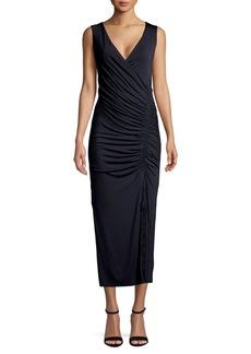 Bailey 44 Sleeveless Ruched Sheath Dress