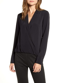 Bailey 44 Sloane Faux Wrap Top