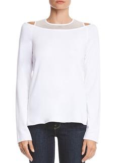 Bailey 44 Snug As A Bug Layered-Look Fleece Sweatshirt