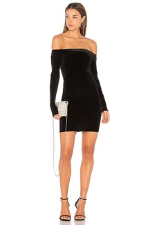 Bailey 44 Stroke of Midnight Body Con Dress in Black. - size L (also in XS,S,M)
