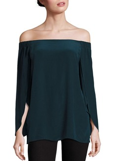 Bailey 44 Trainspot Off-the-Shoulder Top