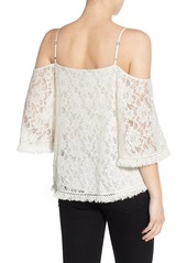 Bailey 44 'Tusk' Lace Cold Shoulder Top