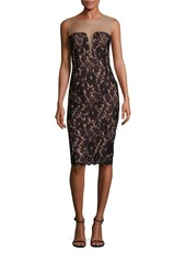 Bailey 44 Vivian Illusion Lace Dress