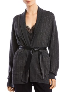 Bailey 44 Whitney Belted Striped Cardigan