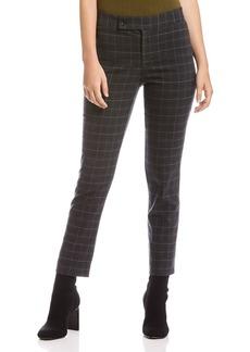 Bailey 44 Winnie Plaid Straight-Leg Pants