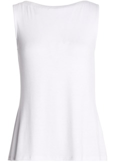 Bailey 44 Woman Lace-up Jersey Top White