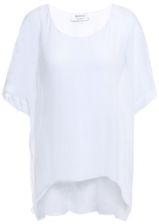 Bailey 44 Woman Layered Silk-gauze Top White