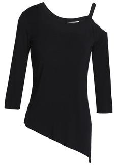 Bailey 44 Woman One-shoulder Modal-blend Top Black