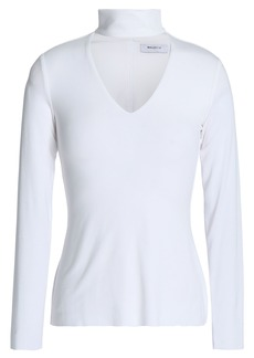 Bailey 44 Woman Tokyo Cutout Stretch-jersey Top White