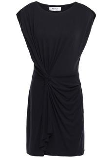 Bailey 44 Woman Twisted Stretch-jersey Mini Dress Midnight Blue