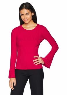 Bailey 44 Women's Cossak Bell Sleeve Sweater Rich red XS