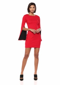 Bailey 44 Women's Daddy Cool Ponte Dress red M