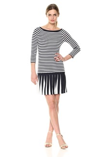 Bailey 44 Women's Dahlia Pleated Skirt Dress  M