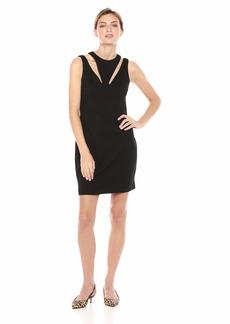 Bailey 44 Women's Deuce Cut Out Ponte Dress  S