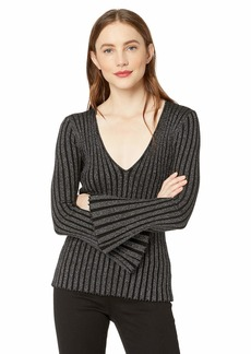 Bailey 44 Women's Don't Stop Till You Get Enough Bell Sleeve Sweater  S