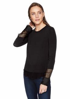 Bailey 44 Women's Double Speak Mock 2-Piece Sweater  L