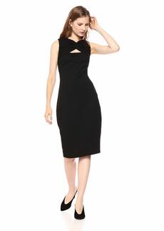 Bailey 44 Women's Duma Midi Date Night Ponte Dress  L