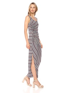 Bailey 44 Women's Duststorm Ruched Maxi Dress  S