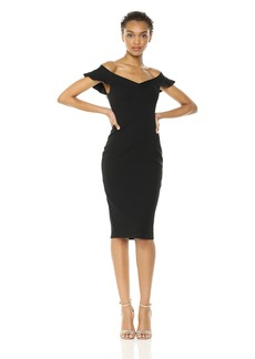 Bailey 44 Women's East Indies Off The Shoulder Cocktail Dress  S