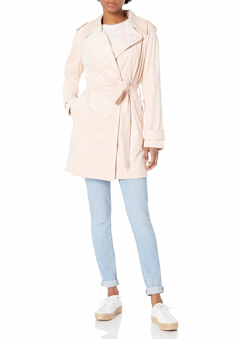 Bailey 44 Women's Faux Suede Belted Jacket