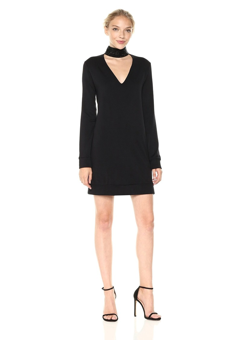 Garrote Sweater Dress in Black. - size M (also in L,S,XS) Bailey 44