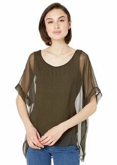 Bailey 44 Women's Habitat Layered Silk Chiffon Top