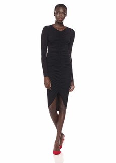 Bailey 44 Women's High Roller Rouched Front Dress  S