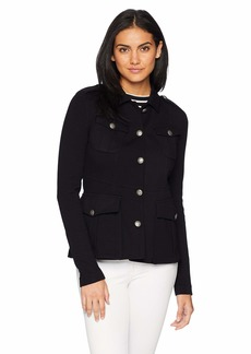 Bailey 44 Women's Imperial Army Ponte Jacket  L