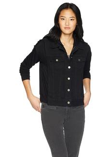 Bailey 44 Women's Janis Denim Hooded Jacket  L