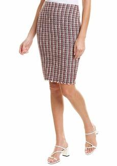 Bailey 44 Women's Laissez-Faire Boucle Knee Length Skirt